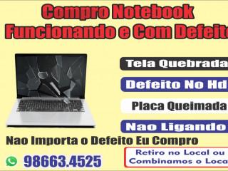 Compra Notebook Usados e Com Defeito Fortaleza 986634525
