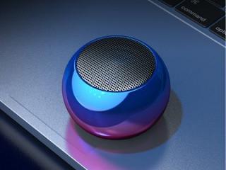 Caixinha Som Bluetooth Tws Metal Mini Speaker Amplificada 3w - AL-2022