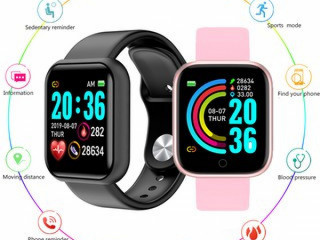 Y68 À Prova D 'Água Digital Smartwatch Pulseiras Relógio Digital Monit
