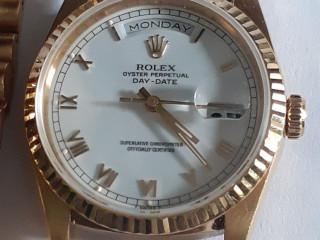 Relógio marca Rolex modelo  presidente todo em ouro amarelo