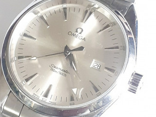 Relógio marca omega Seamaster água  terra todo aço