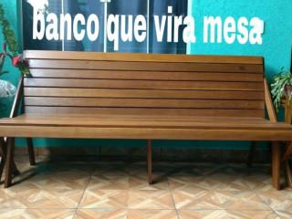 Mesa que vira banco, mesas e cadeiras dobráveis, mesas com cadeiras...
