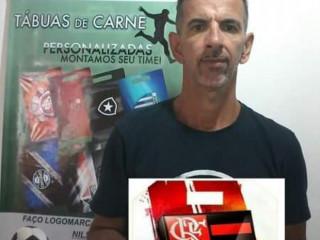 TABUA DE CARNE PERSONALIZADA DE TIMES DE FUTEBOL