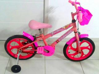 Bicicleta Barbie aro 16
