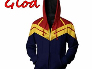 Jaquetas cosplay 3d Marvel