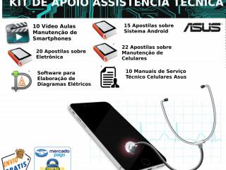 Kit De Apoio Manutenção De Smartphones Asus
